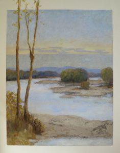LES ÎLES Acrylique sur toile, 81x100 cm